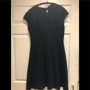 LOFT/NWT/Black/Size 8/Mid Length Dress/